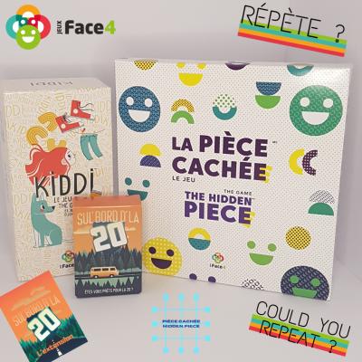 Combo Jeux Face4